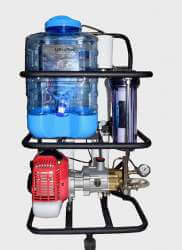 Portable Water prurification plant